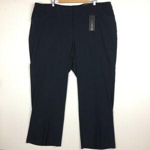 Lane Bryant Navy Blue Classic Trouser Pants